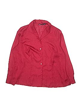 Laura Scott Long Sleeve Button-Down Shirt Size 18W (Plus)
