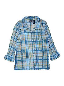 Crazy Horse by Liz Claiborne 3/4 Sleeve Button-Down Shirt Size XL