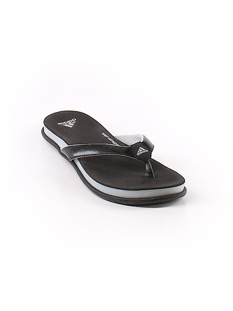 8567446605a6 Adidas Color Block Black Flip Flops Size 5 - 89% off