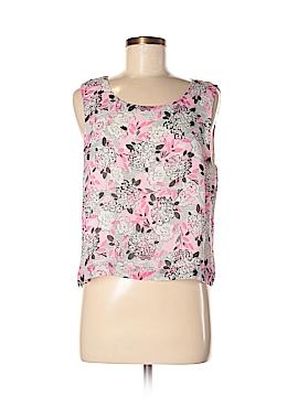 Pendleton Sleeveless Silk Top Size M