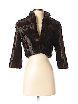 Alberto Makali Faux Fur Jacket Size XS