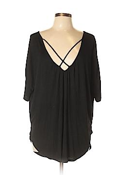 Lush Short Sleeve Top Size L