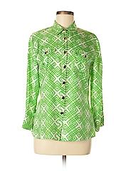 Elizabeth McKay Long Sleeve Silk Top
