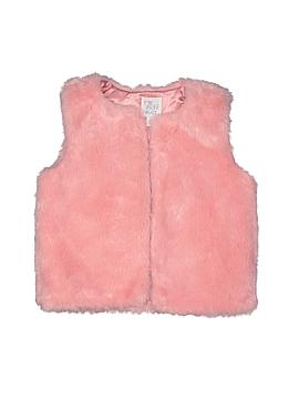 The Children's Place Faux Fur Vest Size 10 - 12