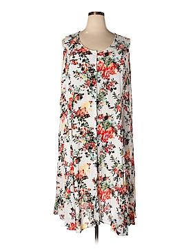Denim 24/7 Casual Dress Size 1X (Plus)