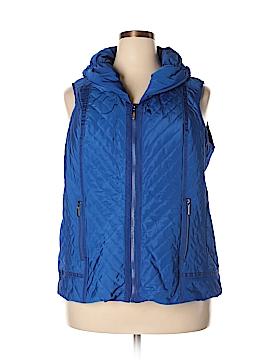 Laura Ashley Vest Size 2X (Plus)