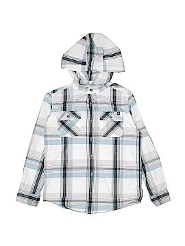 Shaun White Long Sleeve Button-Down Shirt Size 8 - 10
