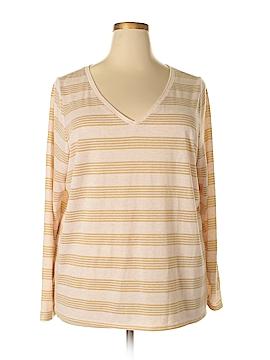 Lane Bryant Long Sleeve T-Shirt Size 24 - 22 Plus (Plus)