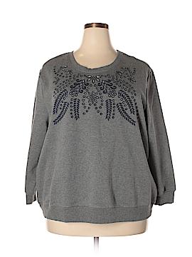 Max Jeans Sweatshirt Size 2X (Plus)