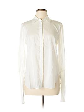 Tibi Long Sleeve Button-Down Shirt Size 0