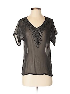 Antik Batik Short Sleeve Blouse Size S