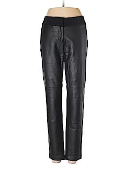 Ann Taylor Faux Leather Pants Size 4