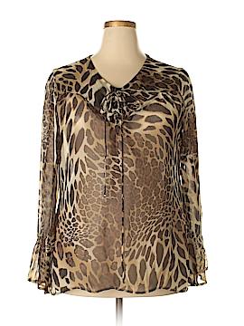 Nicolette Long Sleeve Blouse Size 3X (Plus)