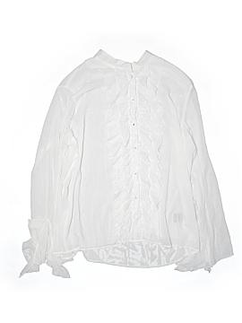 Adolfo Long Sleeve Blouse Size 2X (Plus)