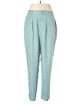 J. Peterman Silk Pants Size 16