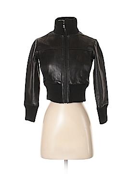 Marc New York Leather Jacket Size P