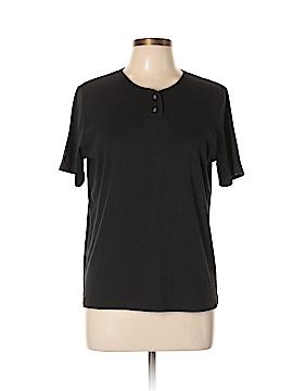 Classic Elements Short Sleeve Henley Size L