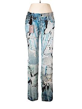 Roberto Cavalli Silk Pants Size 46 (IT)