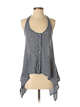 Patterson J. Kincaid Sleeveless Button-Down Shirt Size S