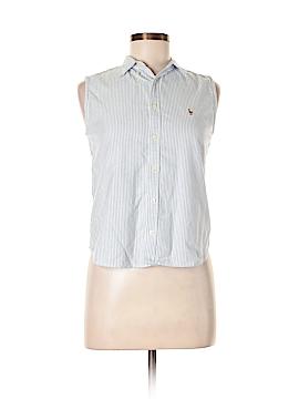 Ralph Lauren Sport Sleeveless Button-Down Shirt Size 4