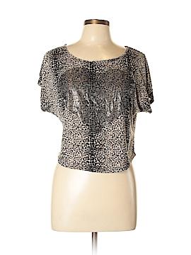 Lily Bleu Short Sleeve Blouse Size L