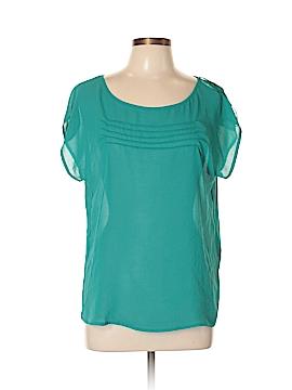 Zara Basic Short Sleeve Blouse Size L