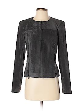 Calvin Klein Faux Leather Jacket Size 4