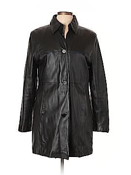 Nicole Miller Leather Jacket Size M