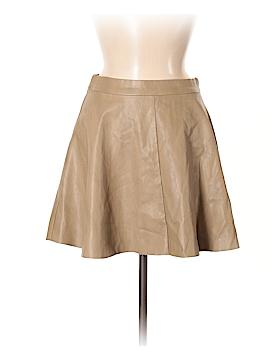 Pookie & Sebastian Faux Leather Skirt Size M