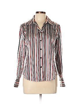 Kasper Long Sleeve Blouse Size 10 (Petite)