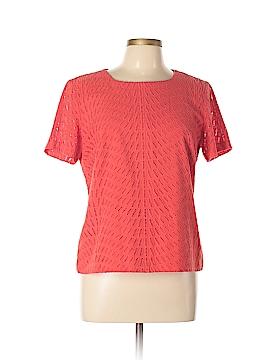 Trina Turk Short Sleeve Blouse Size 10