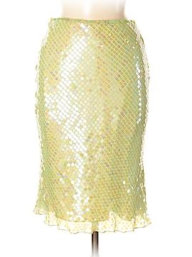 Bebe Silk Skirt Size 2