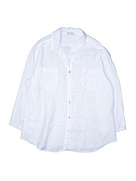 Hot Cotton Long Sleeve Button-Down Shirt Size XL
