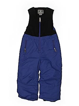 White Sierra Snow Pants With Bib Size 2T