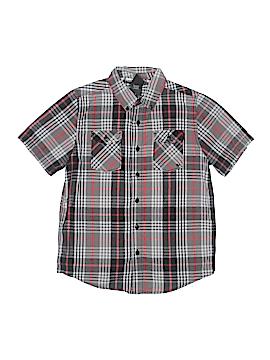 Shaun White Short Sleeve Button-Down Shirt Size M (Youth)