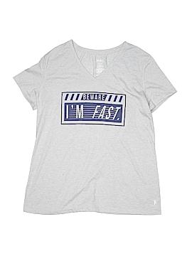 Danskin Now Short Sleeve T-Shirt Size L