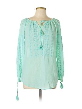 Nanette Lepore Long Sleeve Blouse Size M