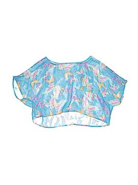 Belle Du Jour Short Sleeve Blouse Size L (Kids)
