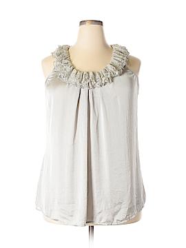 Keren Hart Sleeveless Blouse Size XL