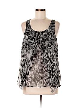 Eliot Short Sleeve Silk Top Size S