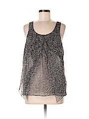 Eliot Women Short Sleeve Silk Top Size S