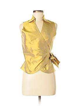 Marisa Baratelli Sleeveless Silk Top Size 4