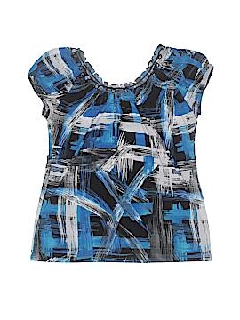 Carol Rose Short Sleeve Top Size S