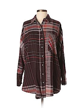 Free People Long Sleeve Button-Down Shirt Size XS (Petite)