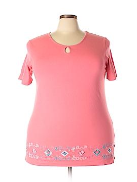 Denim & Co Short Sleeve T-Shirt Size XL