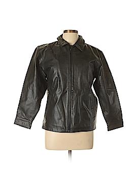 Gap Leather Jacket Size 12