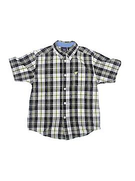 Wrangler Jeans Co Short Sleeve Button-Down Shirt Size 6/7