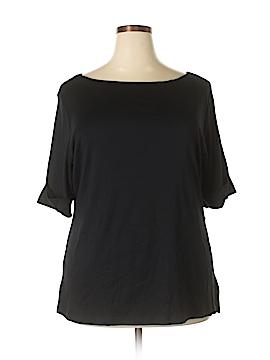 Karen Scott Short Sleeve Top Size 2X (Plus)