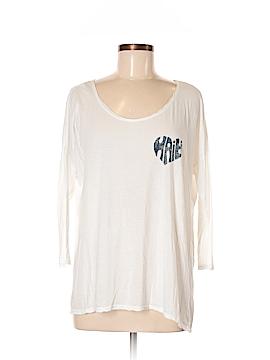Velvet 3/4 Sleeve T-Shirt Size P