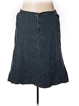 Liz & Me Denim Skirt Size 30 (Plus)